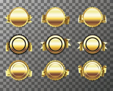 Golden badges empty