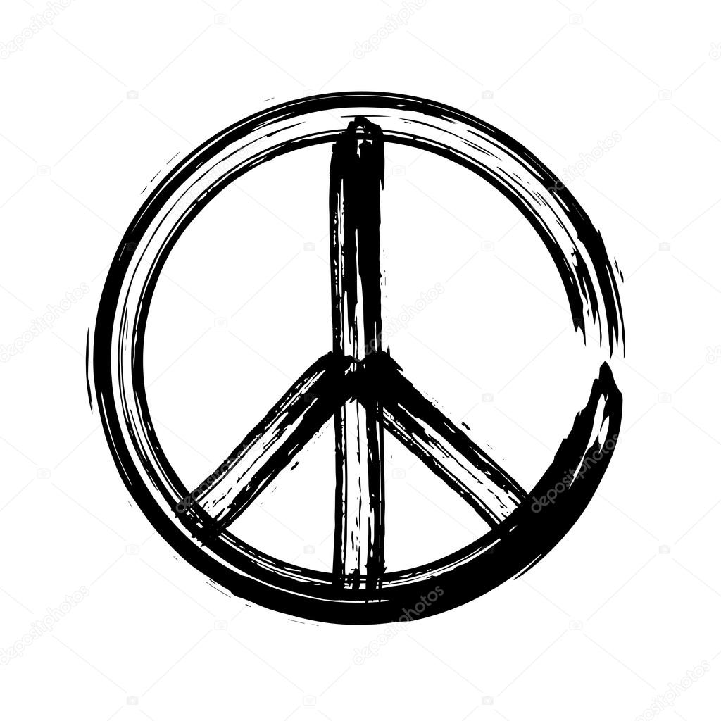 paix symbole ic ne vector amiti pacifisme image vectorielle olegkozyrev 109708888. Black Bedroom Furniture Sets. Home Design Ideas