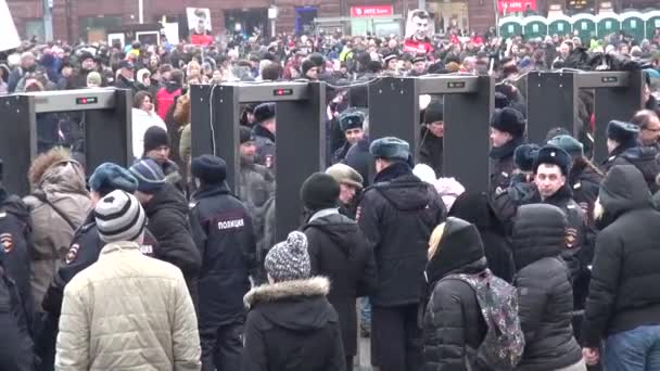 Police searches of members of the opposition March