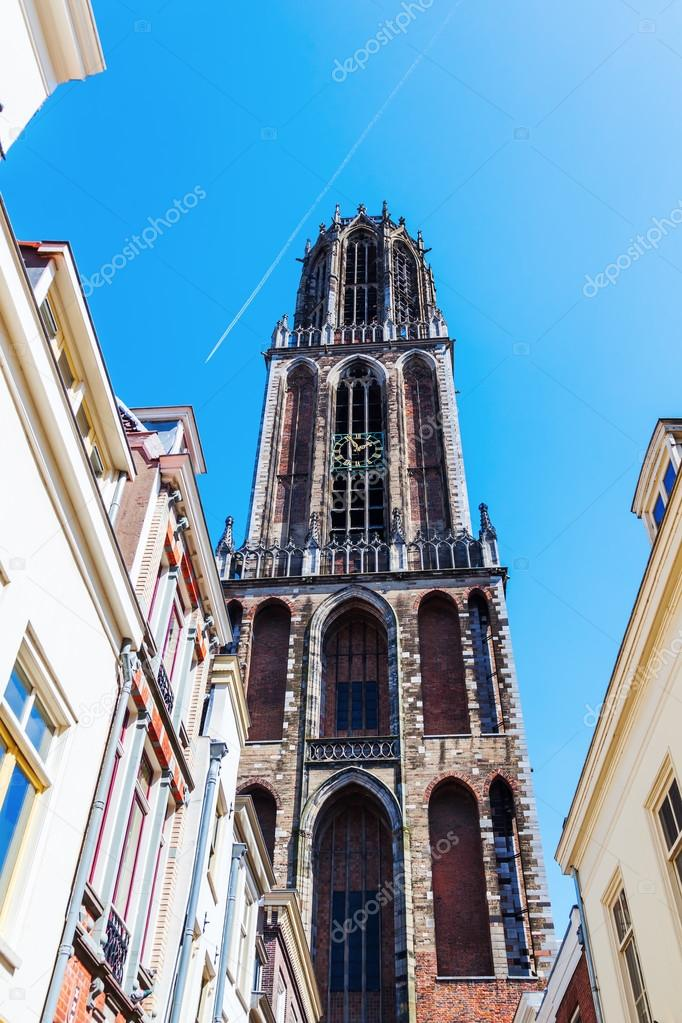 Cathedral in Utrecht, Netherlands