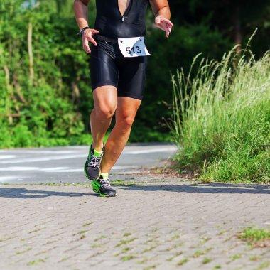 runner at a foot race