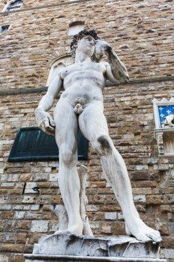 copy of Michelangelos David in Florence, Italy
