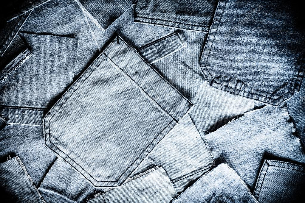 Jeans Back Pocket Texture Background texture fro...