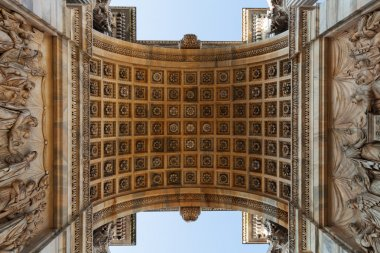 Arco della Pace in Milan, Italy