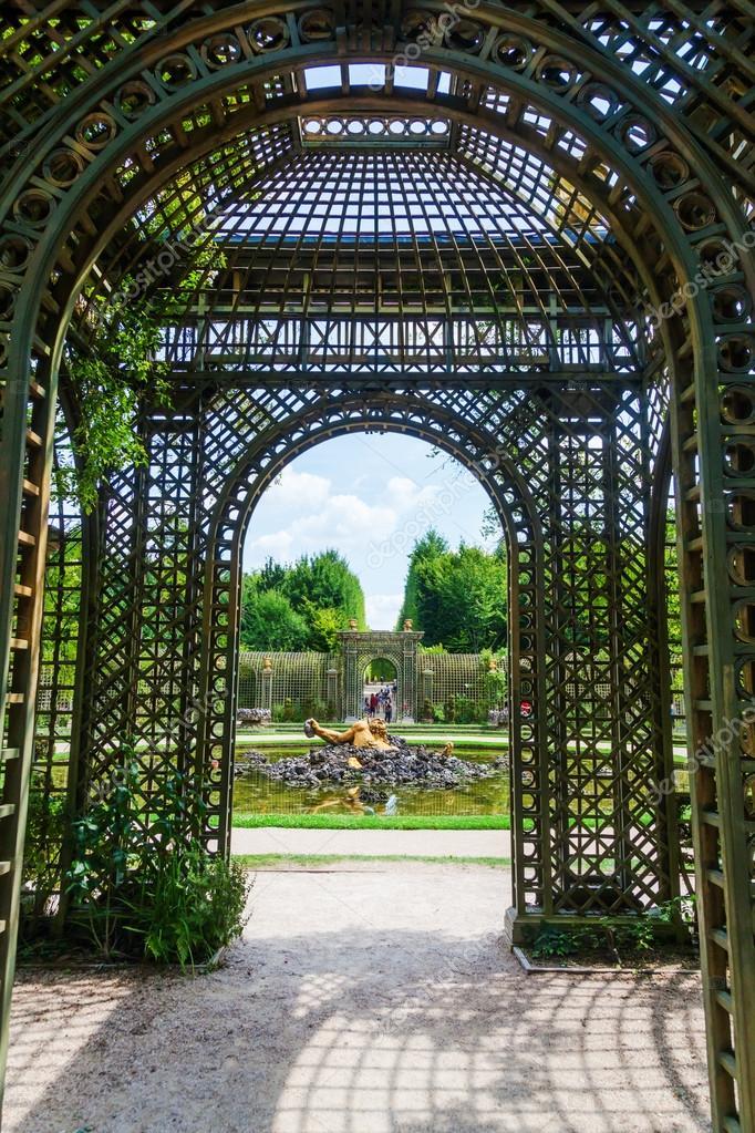 Paleis Van Versailles Tuin.Historische Tuin Van Het Paleis Van Versailles Frankrijk