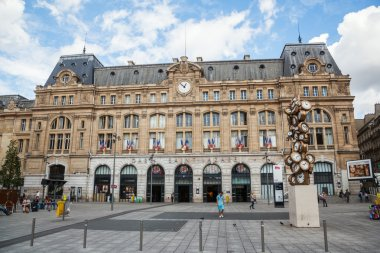 Gare St. Lazare in Paris, France