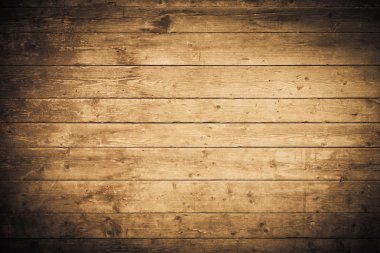 Background texture from wooden planks with vignette