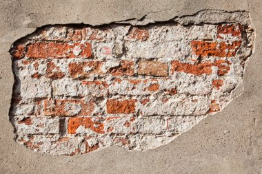 Cracked wall background texture