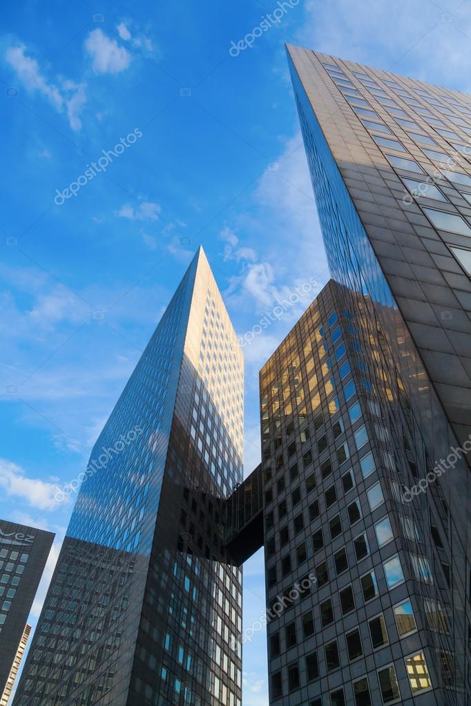 Modern Architecture France architecture in the financial district la defense in paris, france
