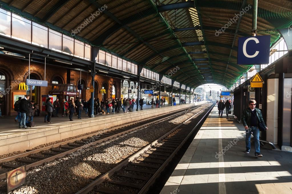 Main Station In Bonn Germany Stock Editorial Photo