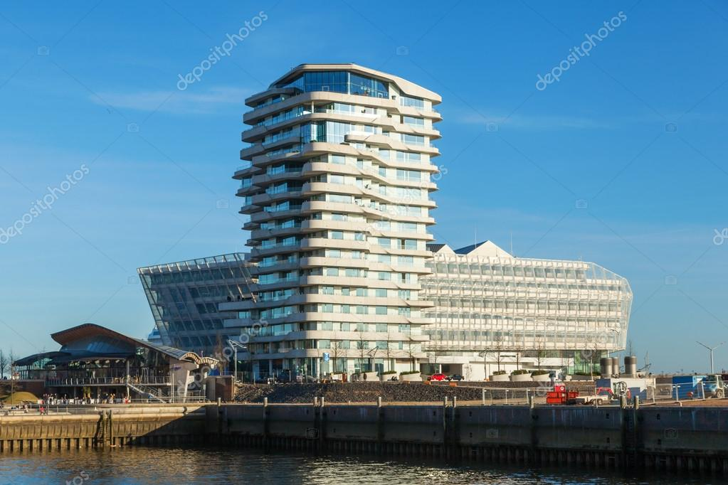 Marco Polo tower in Hamburg, Germany – Stock Editorial Photo ...