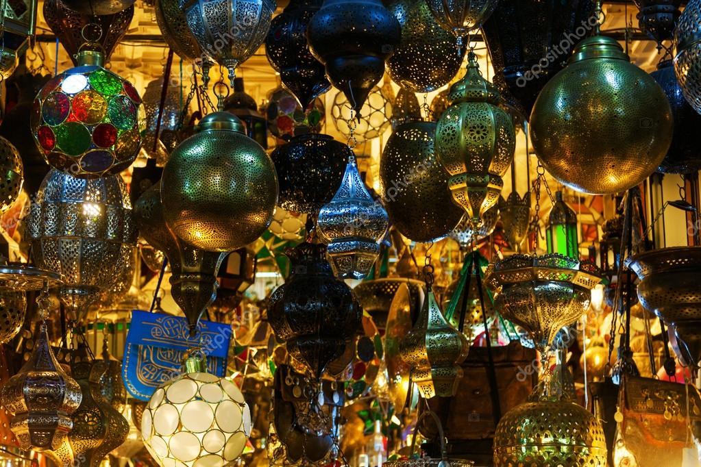 Lampade Vetro Marocchine: Lanterna di produzione marocchina..