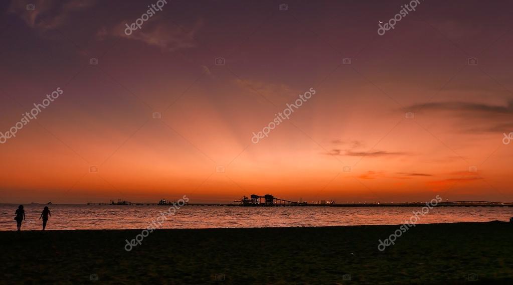 Sunset at Nirvana Beach