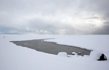 Southern Iceland during winter