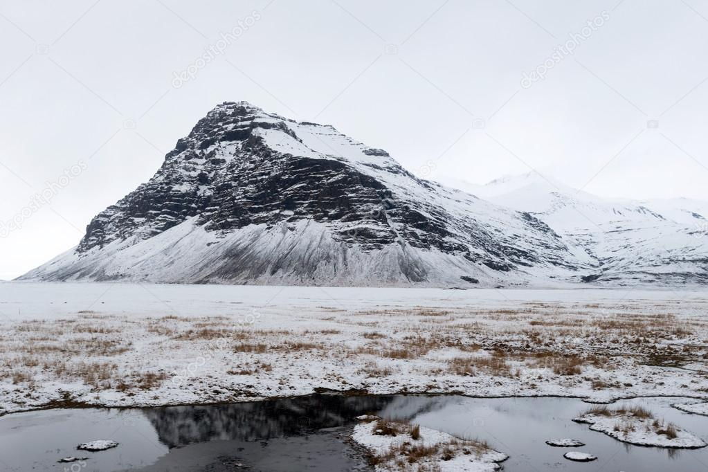 Iceland during winter.