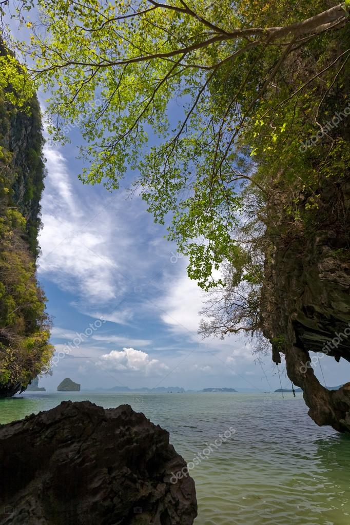 beautiful seascape in Phuket