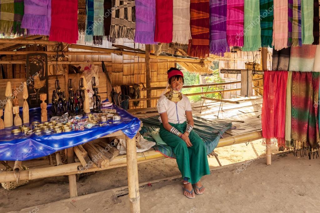 A Karen-Padaung tribe girl