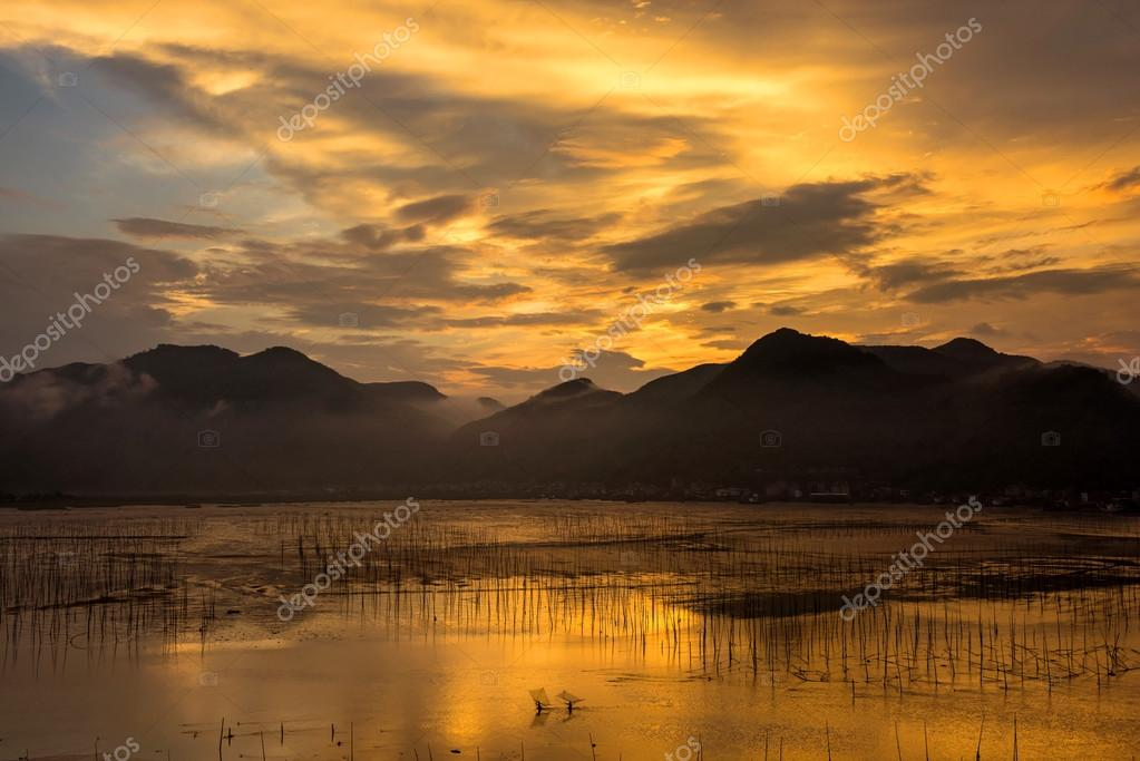 Sunrise in Xiapu County