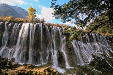 Jiuzhigao waterfalls