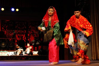 Borneo indigenous native dances