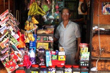 Street grocery shop in Kuala Lumpur, Malaysia