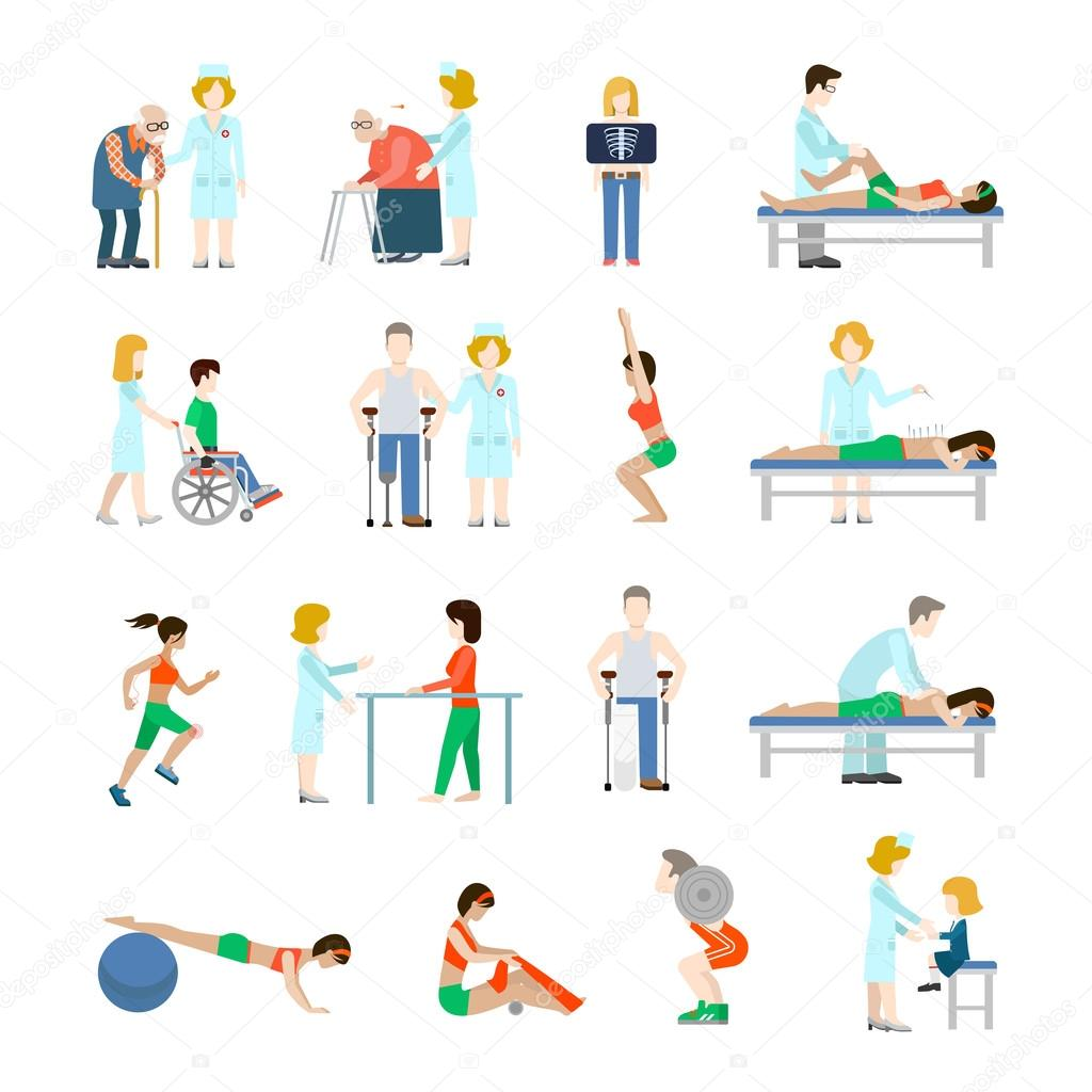 Stock Illustration People Infographic Vector Icon Set