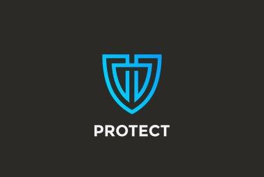 Security Agency Shield Logo design