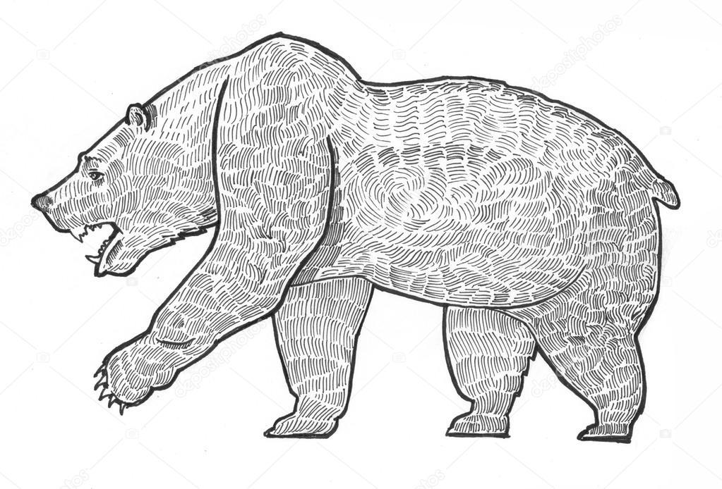 Bleistift malen Abbildung Elefant — Stockfoto © Sentavio #83131050