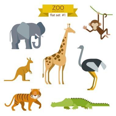 Animals icon set.