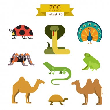 animals icon set.