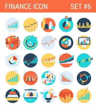 Finance infographics  icons set