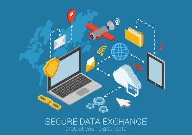 web isometric online safety