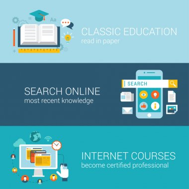 modern education infographic concept.