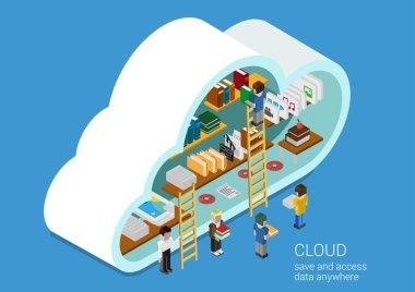 cloud service online media