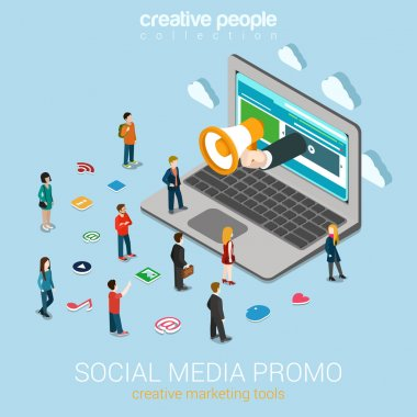 Social media marketing online promotion