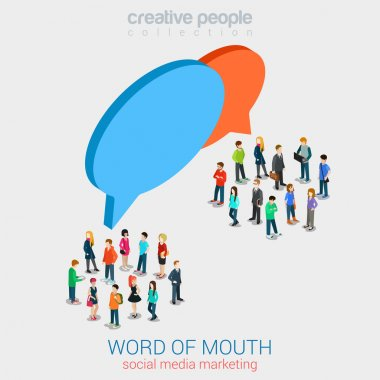 Social marketing word of mouth