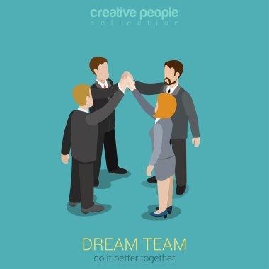Dream team teambuilding togetherness