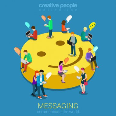 Chat messaging communication