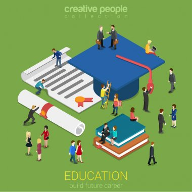 Education graduation license certificate