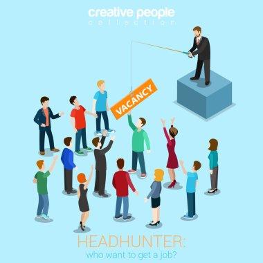 Headhunter HR job offer