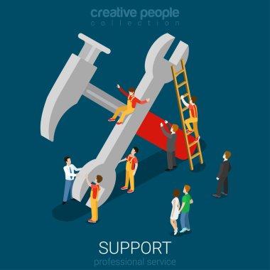 Support service professional guarantee maintenance