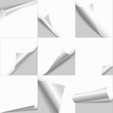 papers with flip edges