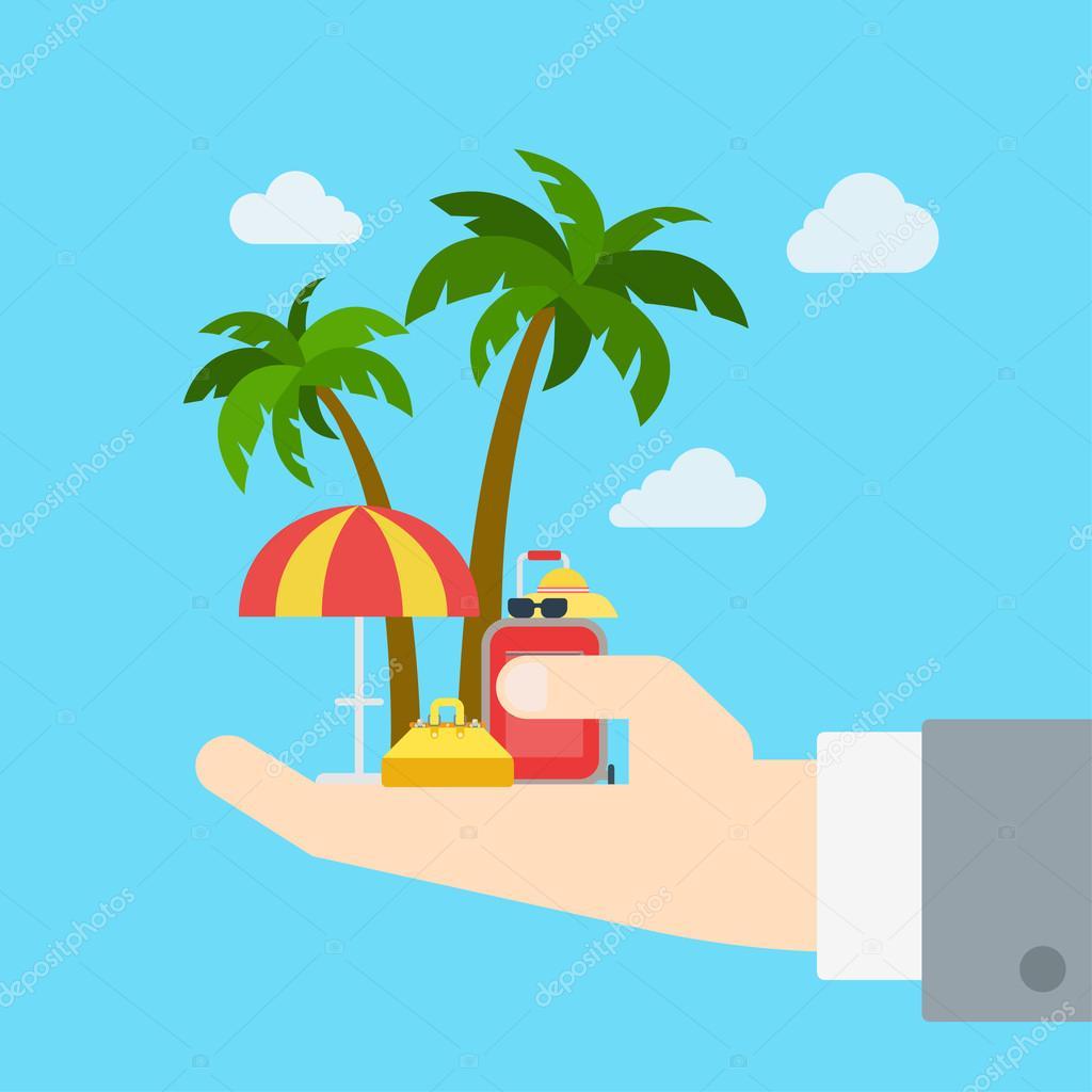 Travel company proposal promo tour