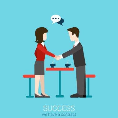 Flat web partnership success