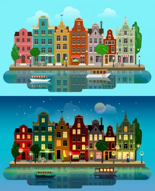 colorful historic buildings