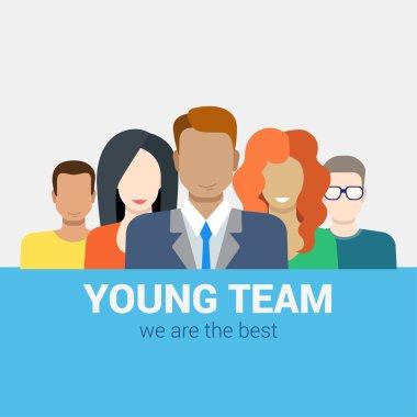 HR teamwork workforce team