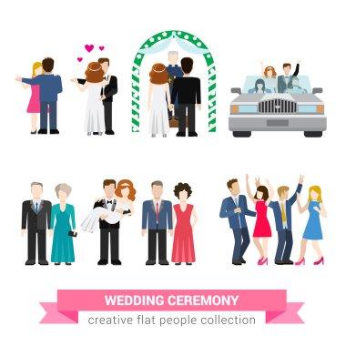 Super wedding ceremony
