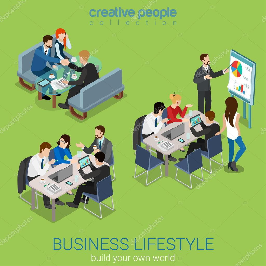 office meeting room, teamwork brainstorming