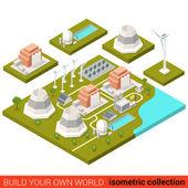 Fotografie Alternative grüne Energie Heizwerk