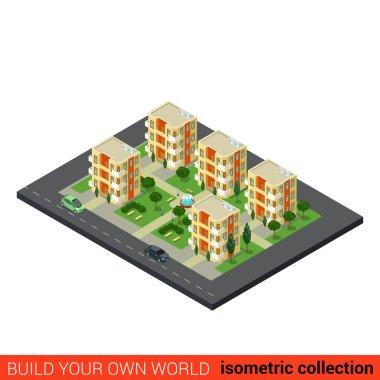city dormitory area